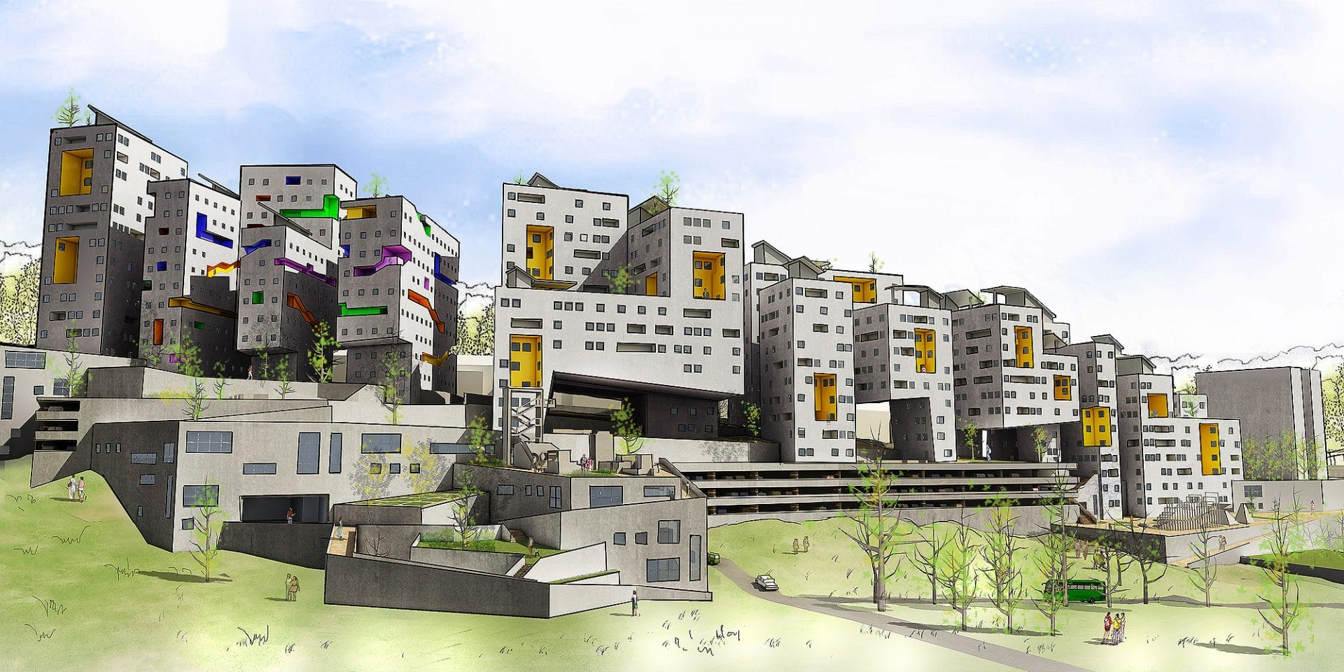 AIMIR's 3D Renderings Help our Client Win the First Place at David Azrieli Prize