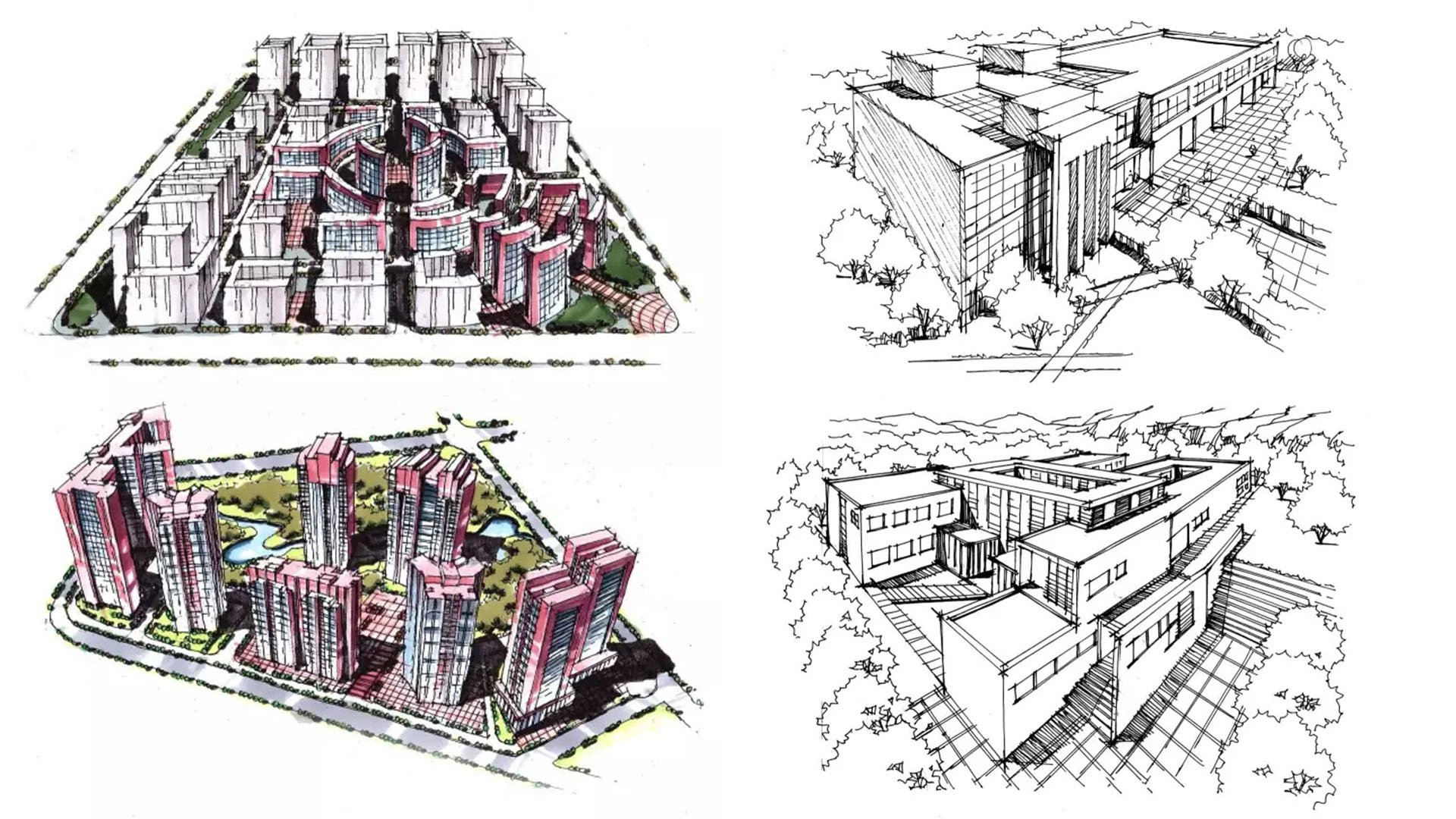 100 Inspiring Architectural Sketches