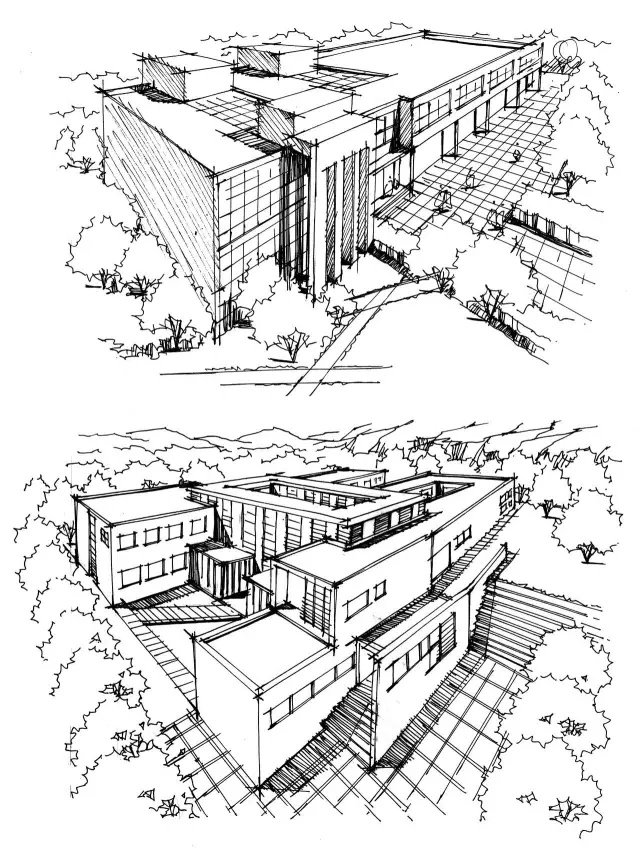 100 inspiring architectural sketches • aimir cg