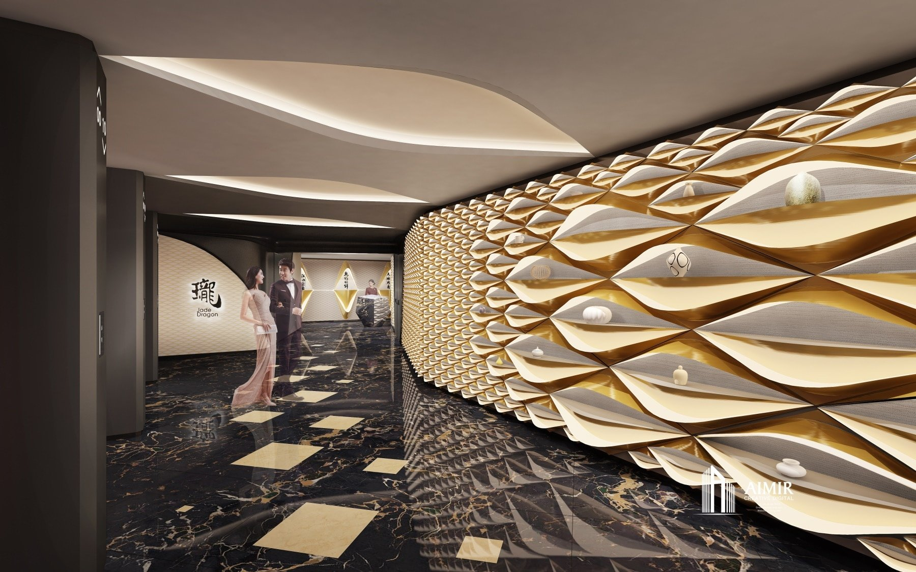 Inside The Morpheus Hotel  U2022 Aimir Cg