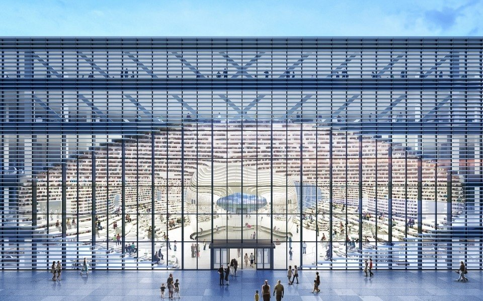 Tianjin Binhai Library – Takes the World by Storm