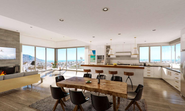 Architectural 3D Visualization of the Redondo Beach Town Homes – Three Unit Luxury Beachside Development