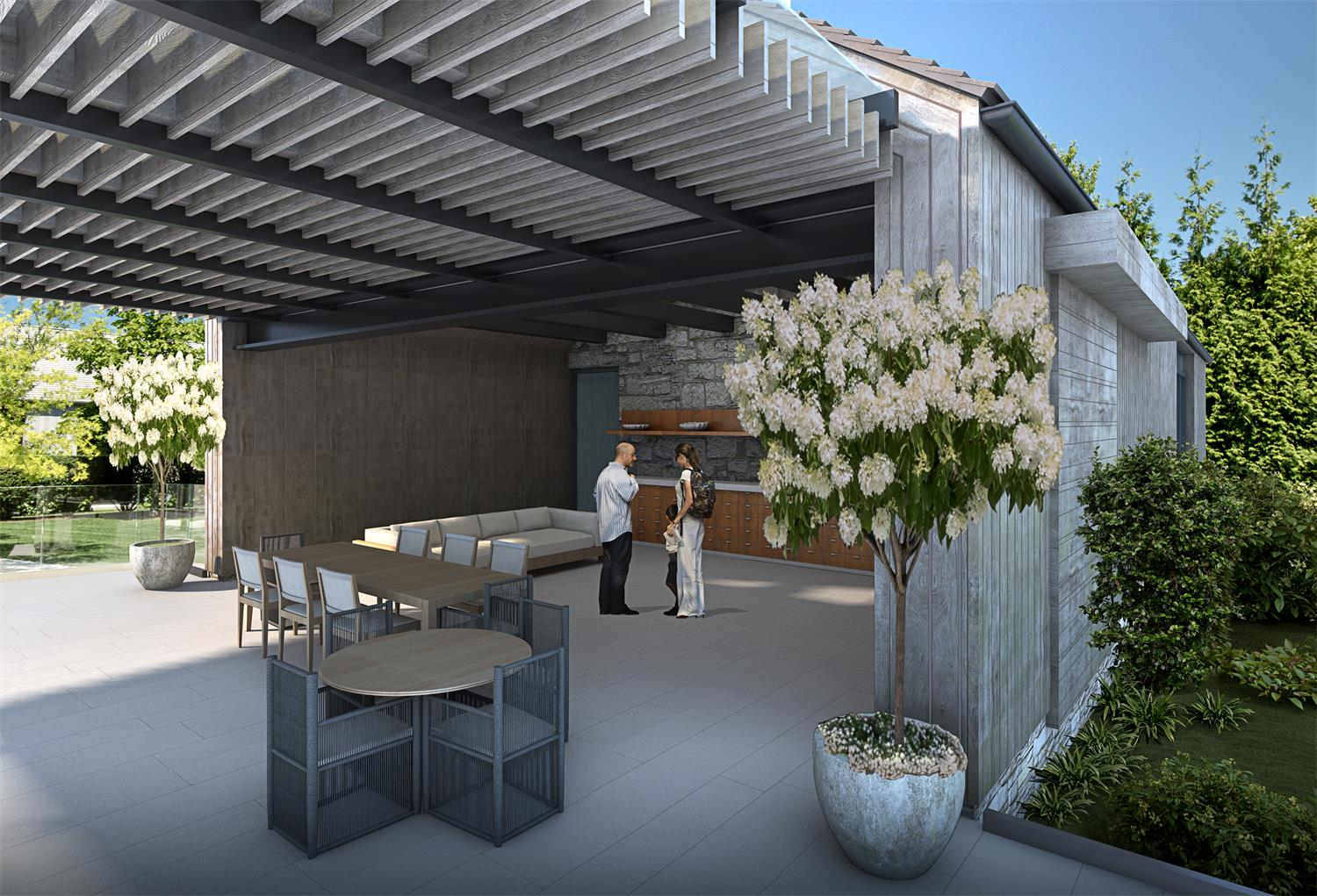 Highland Terrace Padia Residence Innovation Visualized by 3D Rendering