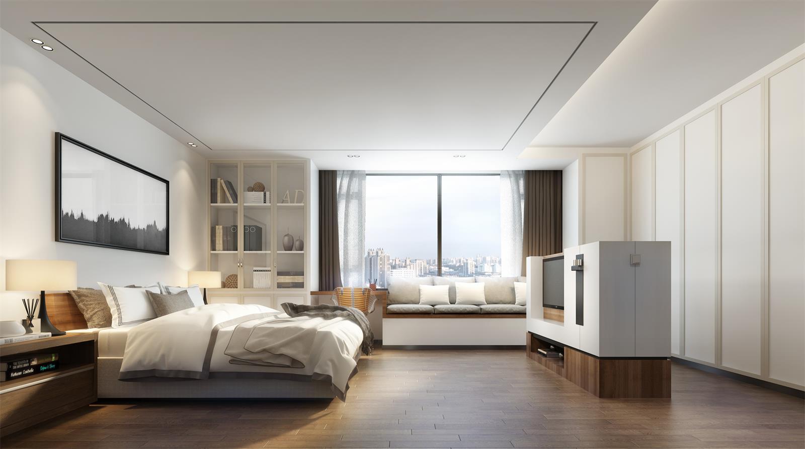 Furniture, Fixtures & Equipment (FF&E) in Interior Rendering
