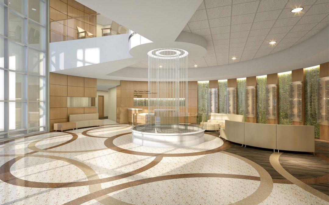 3D visualization and Presenting of San Joaquin Community Hospital