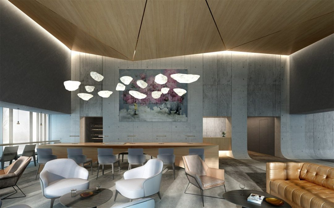 3D Visualization Achieved the Harmonious-design Concept in Furano ZEKKEI Hotel