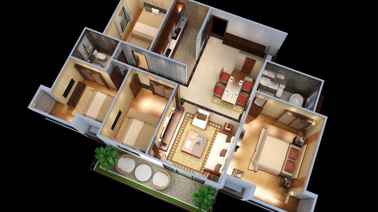 AIMIR CG 3D floor plan (2)