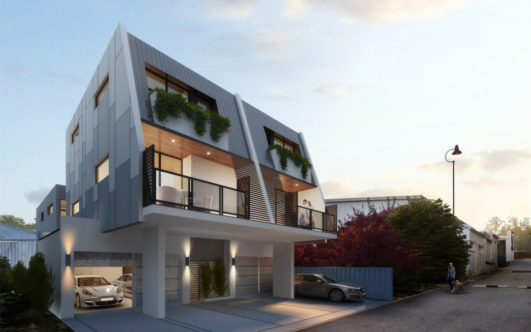 3D Renderings Define the Right Feeling of Leonards + Lane Residence