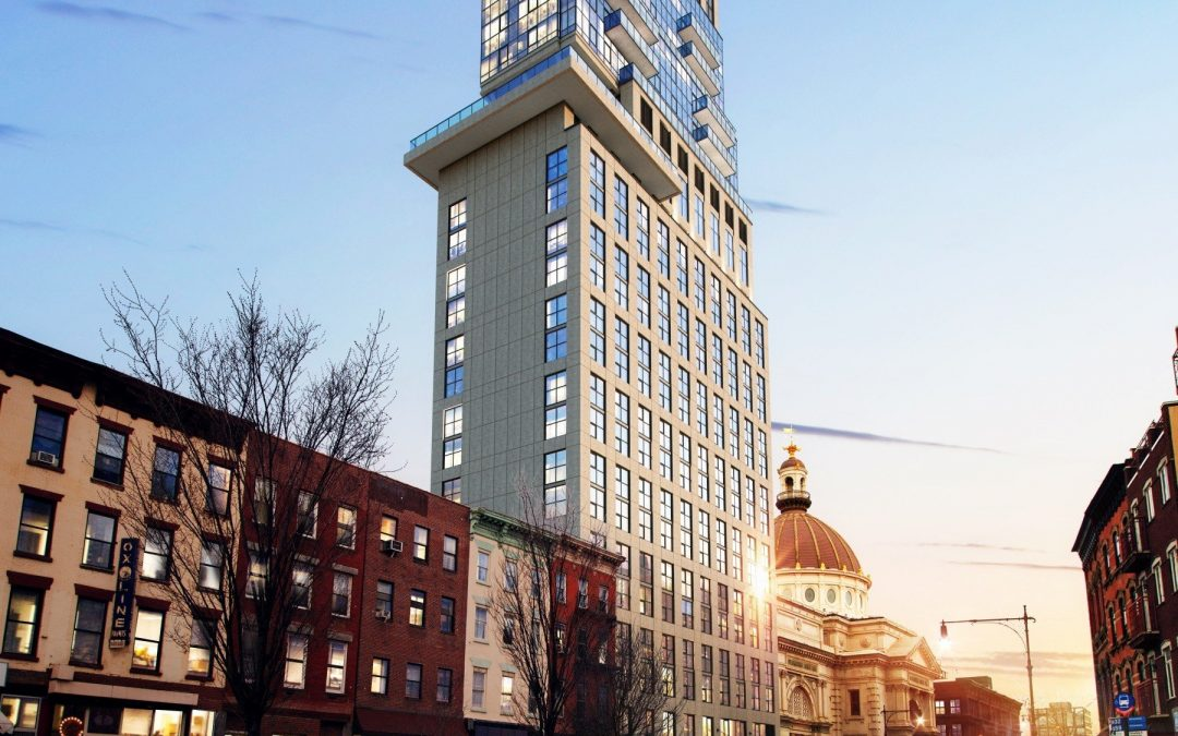 AIMIR's Broadway Tower 3D Rendering Gets Highlighted on New York Times