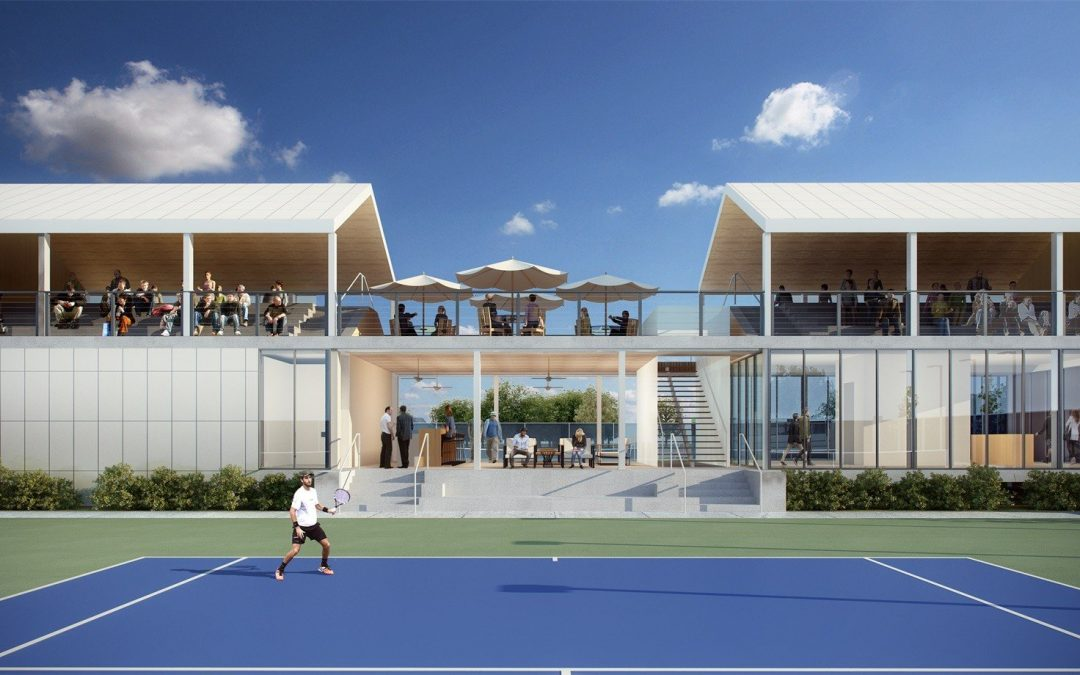 Architectural Visualization Sparkles the Unbuilt Racquet Club