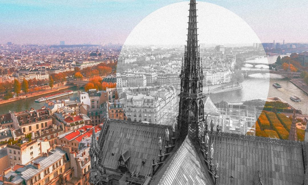 Free 3D Architectural Renderings for the Notre-Dame Spire Design Competition
