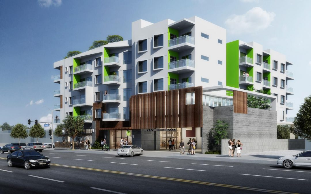 3D Renderings of Pico & Fairfax Apartment