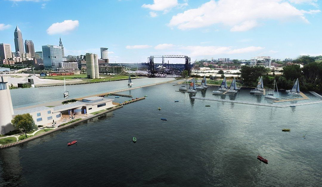 3D Renderings of the Renovation of the Historic Coast Guard Station in Cleveland Ohio.