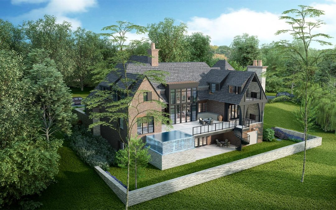 Architectural 3D Rendering Reveals the Cottage-style Borden Residence