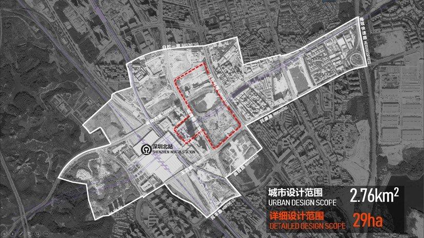 Architecture Design Competition of Urban Design of Shenzhen North Railway Station Hub Area