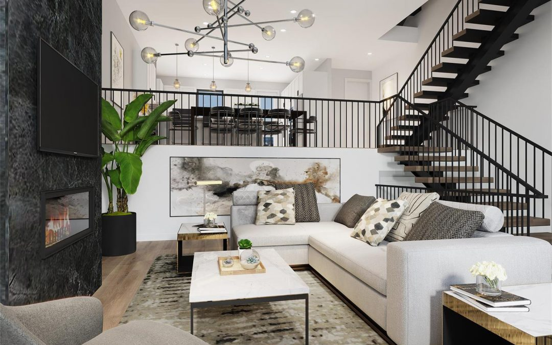 Case Sharing: 3D Interior Renderings of Ella City Homes